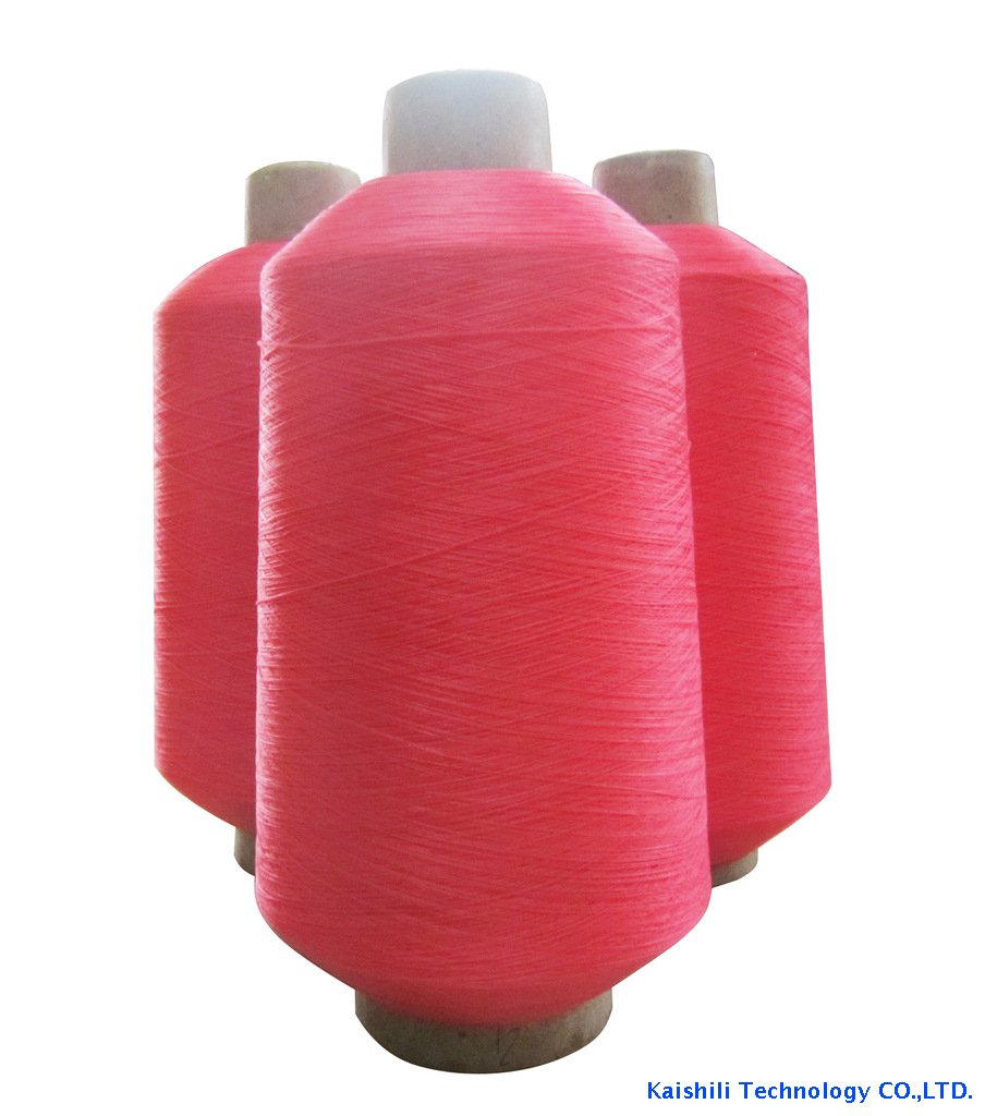 150D twisted high tenacity dope dyed polyester filament yarn for socks