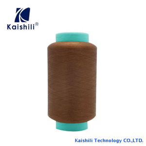 High Quality And Color Polyester Single Spandex Covered Yarn With AA Grade