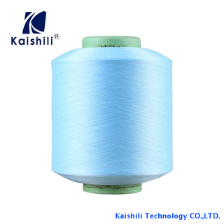 2019 High Quality Semi-dull Polyester Single Spandex Covered Yarn 2075/36F for Socks Production