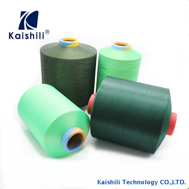 High Polyester Air Covered Yarn with Spandex Knitting Yarn for Socks