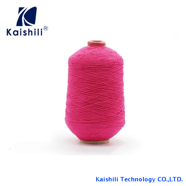 Competitive Price 63# Polyester Rubber Covered Yarn for Socks Knitting From China Manufacturer