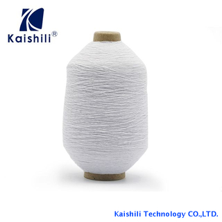 Whole Sale High Quality Polyester 100#/100/100 Rubber Covered Yarn for Socks Production