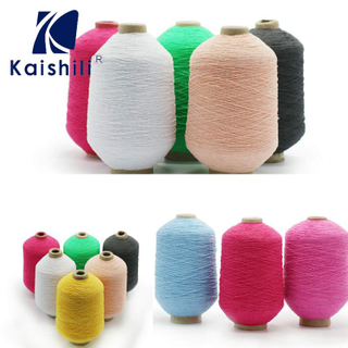 1007575 export standard new dyed yarn , rubber covered yarn