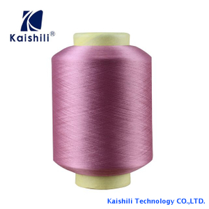 Wholesale Drop Dyed Single Spandex Covered Yarn With High Tenacity