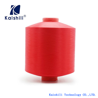 Competitive Price Polyester Single Spandex Covered Yarn 4075/36F for Socks Knitting